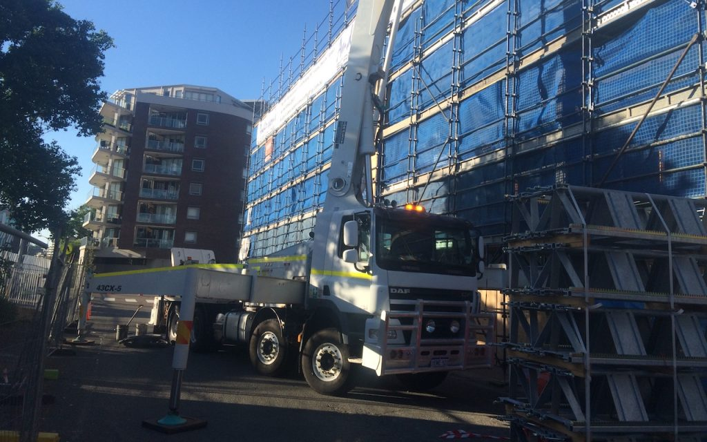 Commercial Concrete Pumping Services for Hunter Valley and Central Coast Businesses