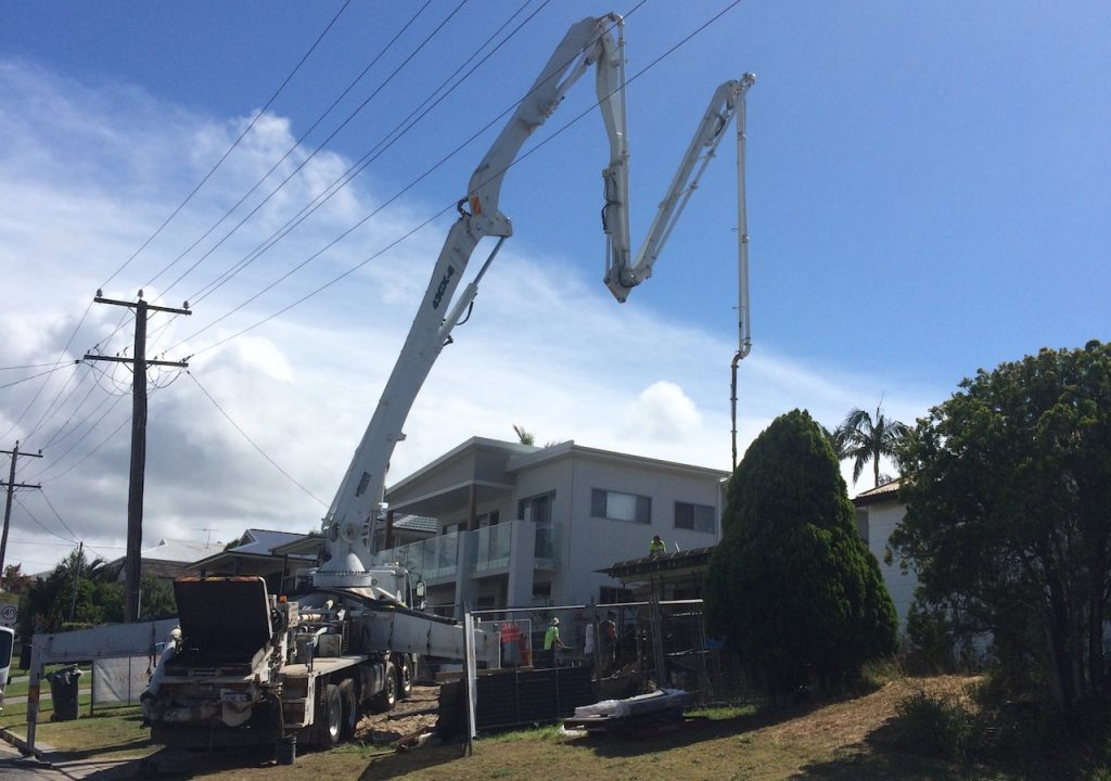 A Range of Concrete Pumping Services in Hunter & Coast